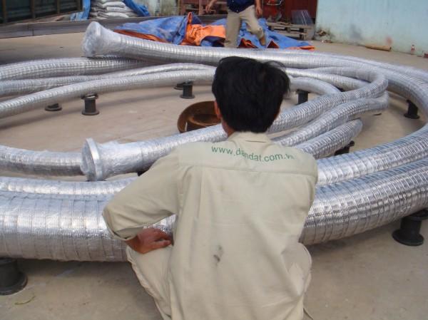 ống nối mềm dùng trong nghành dầu khí